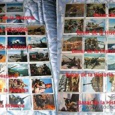 Postales: 52 POSTALES MILITARES PROPAGANDA ALEMANA EN COLOR - SERIE COMPLETA 1944 III REICH II GM . Lote 35672990
