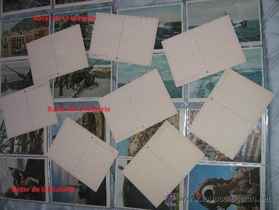 Postales: 52 POSTALES MILITARES PROPAGANDA ALEMANA EN COLOR - SERIE COMPLETA 1944 III REICH II GM - Foto 2 - 35672990