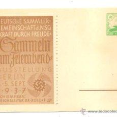 Postales - POSTAL BERLIN 3-5 DE SEPTIEMBRE DE 1937 - 40119849