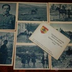 Postales: CARTERA DE CARTONCILLO VOLUNTARIOS ESPAÑOLES FRENTE AL ENEMIGO (SPANIENS FREIWILLIGE AM FEIND), SERI. Lote 38286214