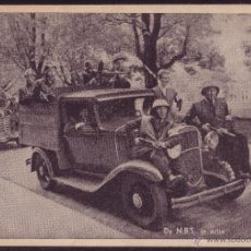 Postales: HOLANDA.TP. FOTOGRÁFICA. DE N. B. S. IN ACTIE (COLABORACIONÍSTA DE LOS NAZIS). MAGNÍFICA Y MUY RARA.. Lote 27597544