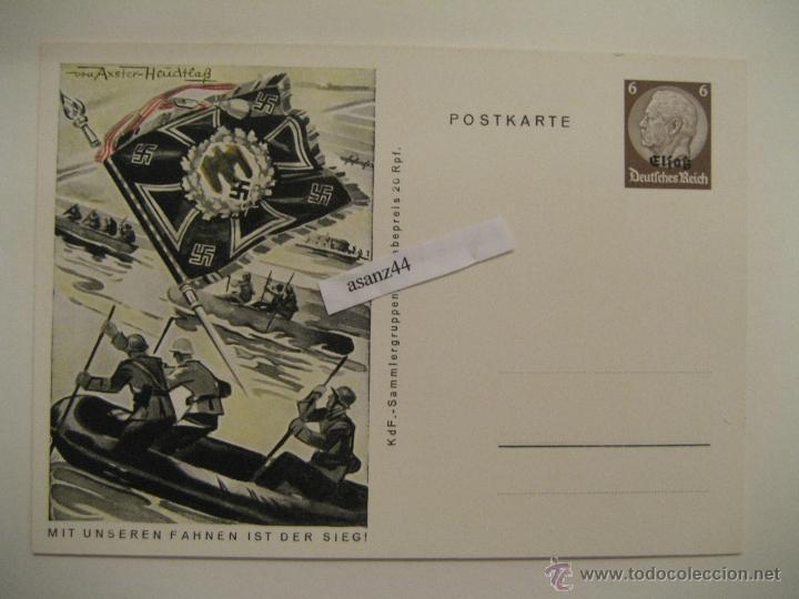 POSTAL ALEMANIA II GUERRA MUNDIAL (Postales - Postales Temáticas - II Guerra Mundial y División Azul)