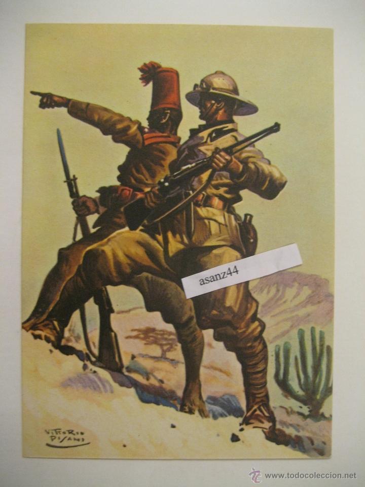 PROPAGANDA MILITAR ITALIANA, GRUPPO BATTAGLIONI CC. NN. D`ERITREA. CORPO TRUPPE COLONIALI (Postales - Postales Temáticas - II Guerra Mundial y División Azul)