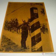 Postales: POSTAL......DE LA DIVISION AZUL..... CONTRA EL BOLCHEVISMO.. Lote 42867133