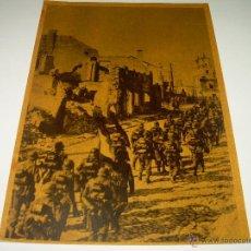 Postales: POSTAL......DE LA DIVISION AZUL..... CONTRA EL BOLCHEVISMO.. Lote 42867240