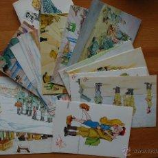 Postales: 20 POSTALES HUMORÍSTICAS DIVISIÓN AZUL. Lote 42879119