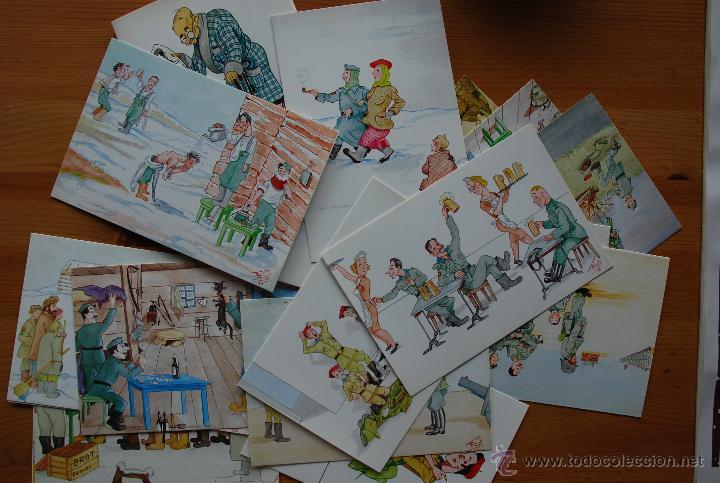 Postales: 20 POSTALES HUMORÍSTICAS DIVISIÓN AZUL - Foto 2 - 42879119