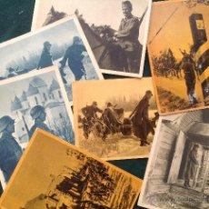 Postales: LOTE DE 8 POSTALES DE LA DIVISIÓN AZUL. Lote 43223581