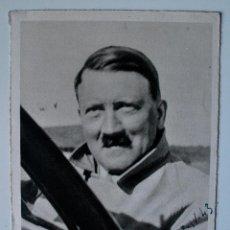Postales: POSTAL FOTO HOFFMANN DE HITLER, MUNCHEN (III REICH) CON FECHA Y LUGAR,SOLDADO DIVISION RUSIA 1943 . Lote 45266320