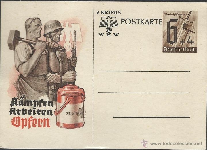TARJETA DE LA SEGUNDA GUERRA MUNDIAL (Postales - Postales Temáticas - II Guerra Mundial y División Azul)