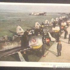 Postales: POSTAL ILUSTRADA. CAZAS FOCKE WULF FW 190 DISPUESTOS PARA SU ENVIO AL FRENTE. (CARL WERNER).. Lote 46203161