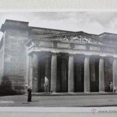 Postales: P- 13. POSTAL FOTOGRAFICA ORIGINAL ALEMANIA BERLIN. EHRENMAL - EPOCA III REICH. Lote 46347298