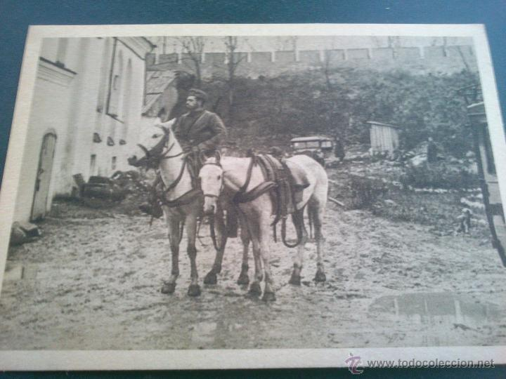 Postales: POSTALES Cartera de cartoncillo Voluntarios españoles frente al enemigo. División azul - Foto 2 - 46517709