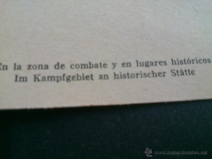 Postales: POSTALES Cartera de cartoncillo Voluntarios españoles frente al enemigo. División azul - Foto 3 - 46517709