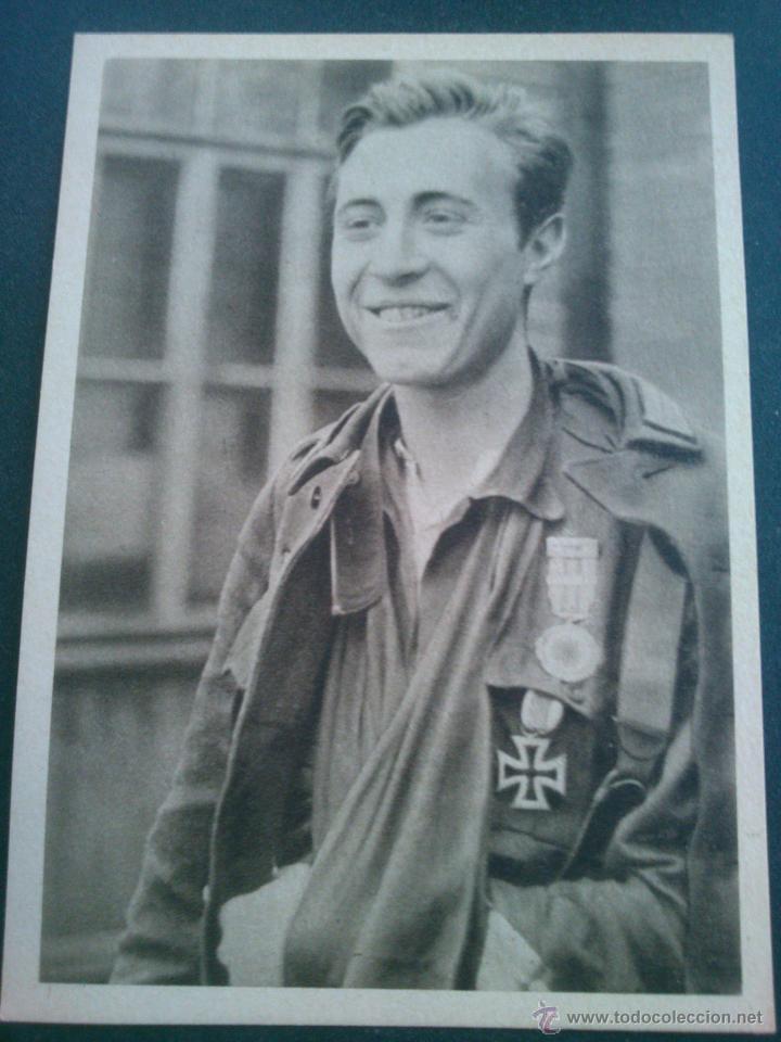 Postales: POSTALES Cartera de cartoncillo Voluntarios españoles frente al enemigo. División azul - Foto 4 - 46517709