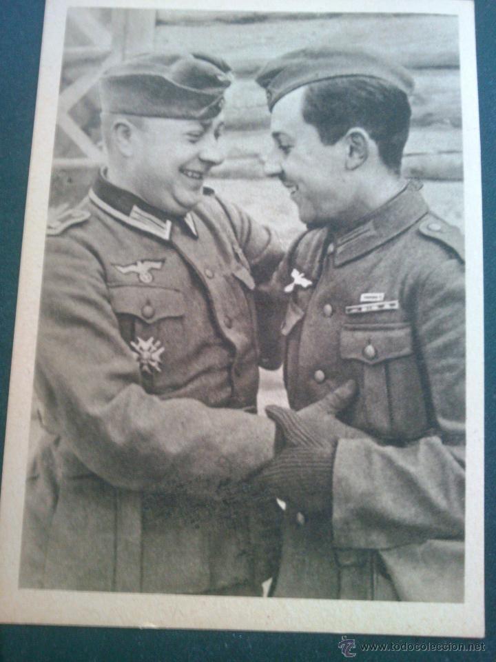 Postales: POSTALES Cartera de cartoncillo Voluntarios españoles frente al enemigo. División azul - Foto 8 - 46517709