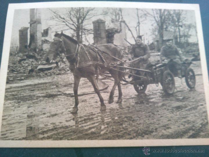 Postales: POSTALES Cartera de cartoncillo Voluntarios españoles frente al enemigo. División azul - Foto 14 - 46517709