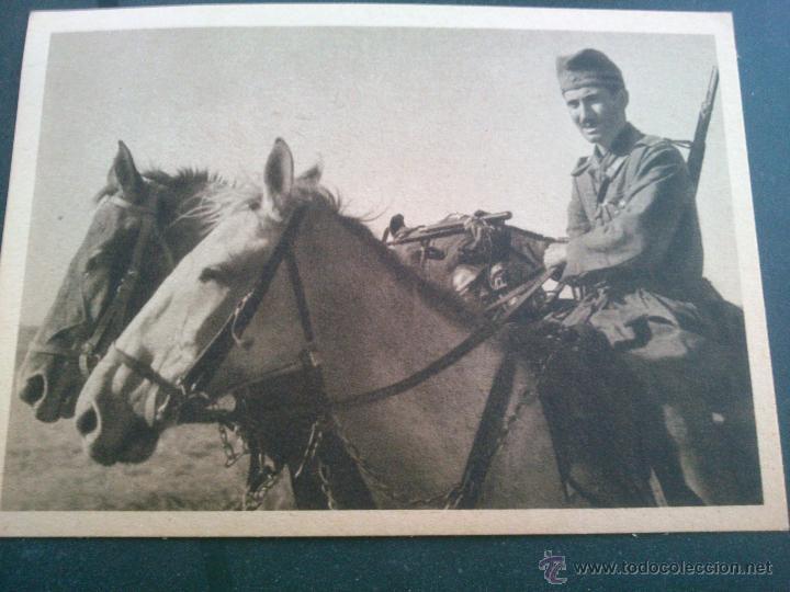 Postales: POSTALES Cartera de cartoncillo Voluntarios españoles frente al enemigo. División azul - Foto 16 - 46517709