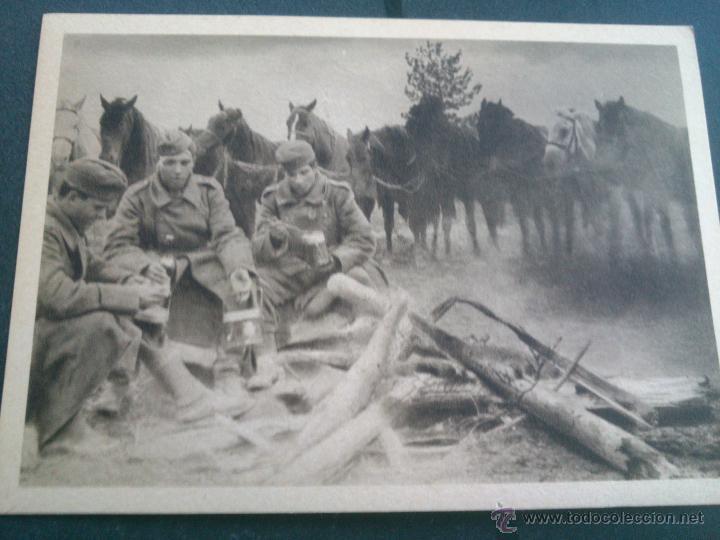 Postales: POSTALES Cartera de cartoncillo Voluntarios españoles frente al enemigo. División azul - Foto 18 - 46517709