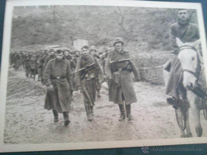 Postales: POSTALES Cartera de cartoncillo Voluntarios españoles frente al enemigo. División azul - Foto 20 - 46517709