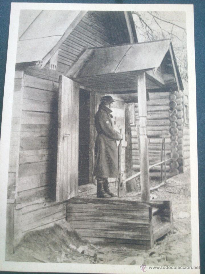 Postales: POSTALES Cartera de cartoncillo Voluntarios españoles frente al enemigo. División azul - Foto 22 - 46517709