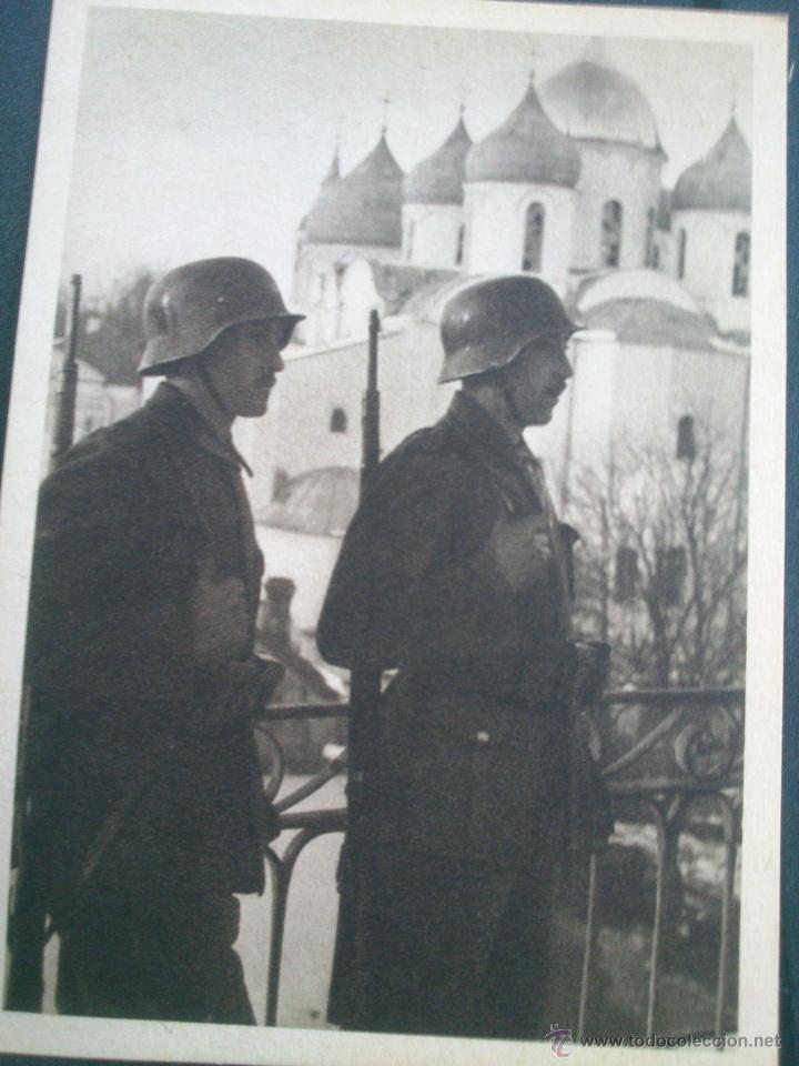 Postales: POSTALES Cartera de cartoncillo Voluntarios españoles frente al enemigo. División azul - Foto 24 - 46517709
