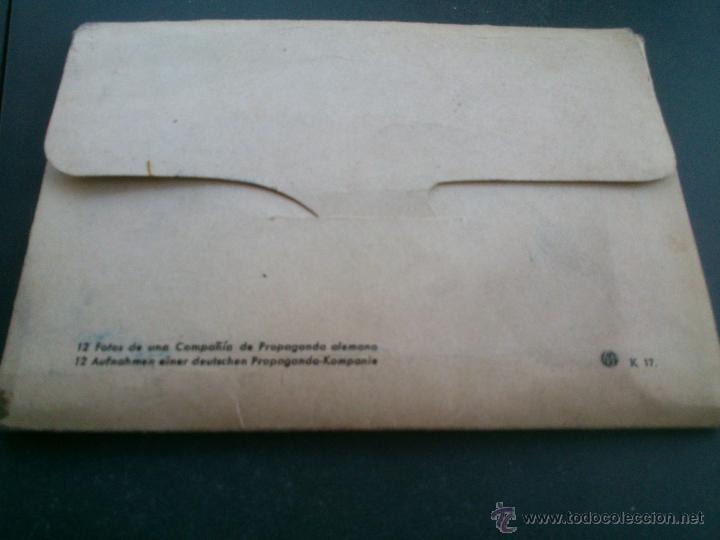 Postales: POSTALES Cartera de cartoncillo Voluntarios españoles frente al enemigo. División azul - Foto 27 - 46517709