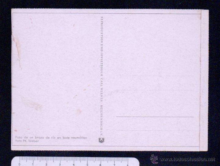 Postales: Postal.Propaganda alemana II guerra mundial.Ed.Carl Werner.Sin circular. - Foto 2 - 46766725