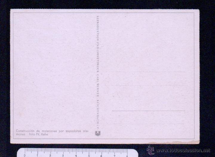 Postales: Postal.Propaganda alemana II guerra mundial.Ed.Carl Werner.Sin circular. - Foto 2 - 46766769
