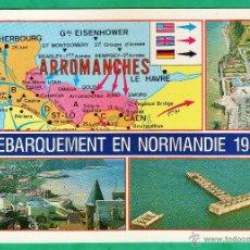 Postales: POSTAL - DESEMBARCO NORMANDIA - II GUERRA MUNDIAL - EDICION FRANCESA - NUEVA - AÑOS 70 - MJJ. Lote 46901214