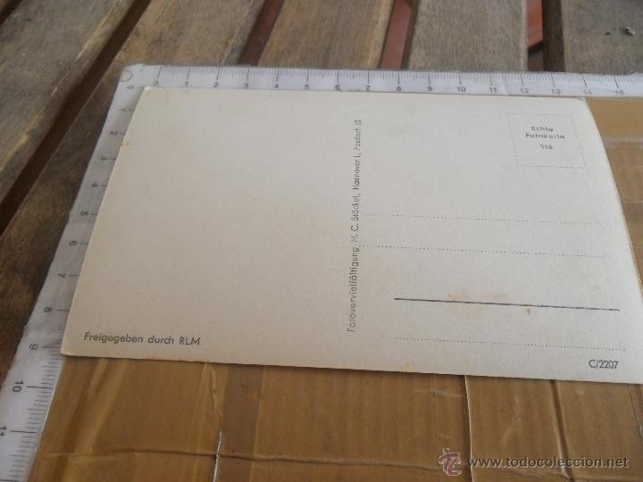 Postales: TARJETA POSTAL AVION ALEMAN II GUERRA MUNDIAL - Foto 2 - 47300085