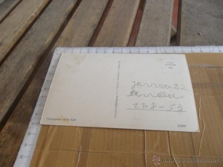 Postales: TARJETA POSTAL AVION ALEMAN II GUERRA MUNDIAL - Foto 2 - 47300121
