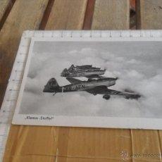 Postales: TARJETA POSTAL AVION ALEMAN II GUERRA MUNDIAL. Lote 47300215
