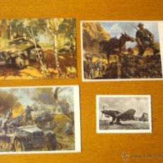 Postales: LOTE POSTALES Y FOTOGRAFIA ALEMANAS, NAZI, 2ª GUERRA MUNDIAL. Lote 47349934
