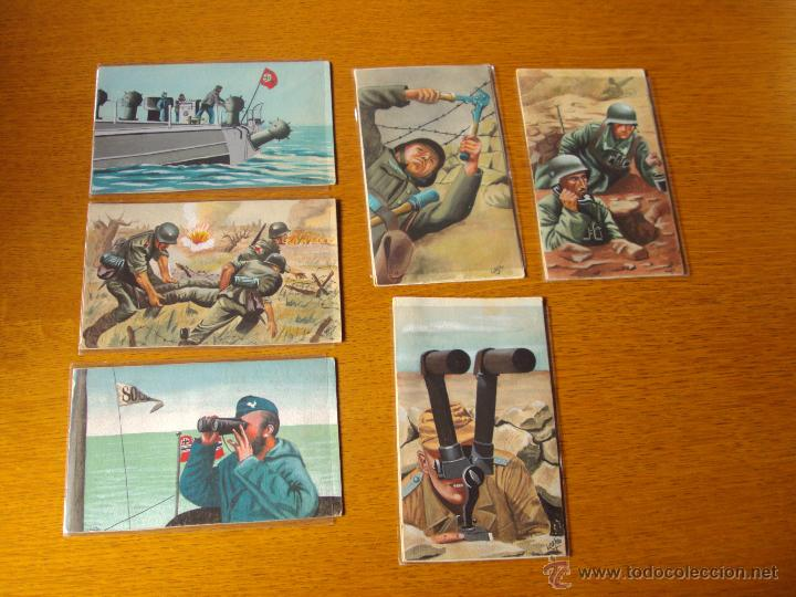LOTE POSTALES 2ªGUERRA MUNDIAL ALEMANAS, NAZIS (Postales - Postales Temáticas - II Guerra Mundial y División Azul)