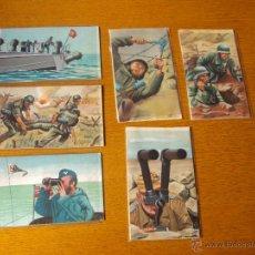 Postales: LOTE POSTALES 2ªGUERRA MUNDIAL ALEMANAS, NAZIS. Lote 47350005