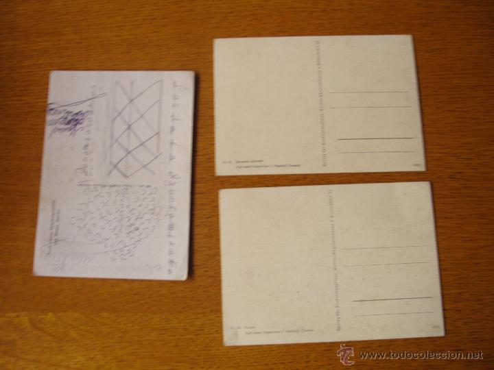 Postales: Lote postales alemanas nazis, segunda guerra mundial - Foto 2 - 47350128