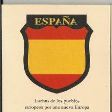 Postales: CARPETA CUADROS DE LA DIVISION AZUL NUEVA DE ESTA CARPETA FACSIMIL SE HICIERON 250 UNIDADES. Lote 47364796