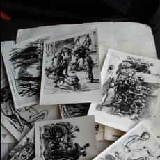 Postales: POSTAL POLONIA: LOTE 9 POSTALES AUSCHWITZ BIRKENAU. Lote 48195797