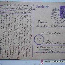Postales: POSTKARTE.CORREO ALEMAN DE GUERRA . ENTERO POSTAL SELLO DE A. HITLER IMPRESO. 1944.. Lote 48762170