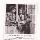 Postales: POSTAL HALLO ! DU MÄDEL, LEBE WOHL ! / SPEZIAL VERLAG FRANKE, HAMBURG / ORIGINAL DE LA ÉPOCA / SIN U. Lote 50772935