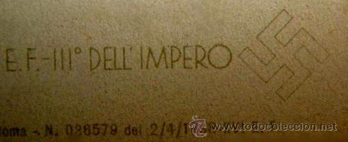 Postales: RARA POSTAL DE HITLER Y MUSSOLINI. PRIMAVERA 1938. - Foto 4 - 52326104