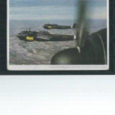 Postales: POSTAL MILITAR - AVIONES DE BOMBARDEO ALEMANES - STUKAS D0 217 EN VUELO -. Lote 53156285