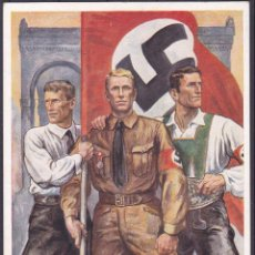 Antigua Postal, Adolf Hitler, Nazi, II Guerra Mundial, Original