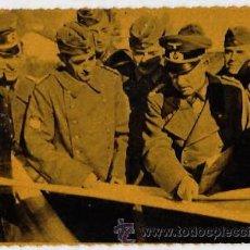 Postales: POSTAL CRUZADA EUROPEA CONTRA EL BOLCHEVISMO. LA DIVISION AZUL. GENERAL MUÑOZ GRANDE..... Lote 53245319