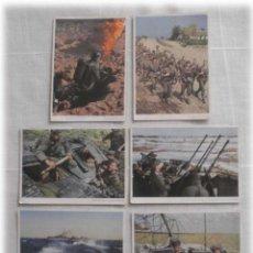Postales: LOTE DE SIETE POSTALES EN COLOR DE LA 2ª GUERRA MUNDIAL. Lote 53702923