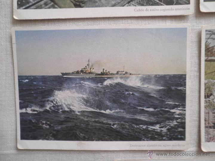 Postales: Lote de siete postales en color de la 2ª Guerra Mundial - Foto 6 - 53702923