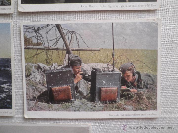 Postales: Lote de siete postales en color de la 2ª Guerra Mundial - Foto 7 - 53702923