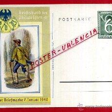 Postales: POSTAL ALEMANIA NAZI , ADOLF HITLER, II GUERRA MUNDIAL , 1940 , ORIGINAL , ZZ12. Lote 53767325