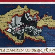 Postales: POSTAL ALEMANIA NAZI , ADOLF HITLER, II GUERRA MUNDIAL , ORIGINAL , ZZ15. Lote 53767373